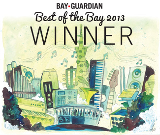 San Francisco Bay Guardian Best Of The Bay 2013
